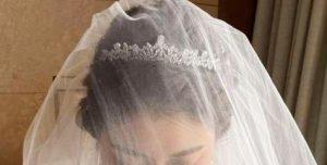 満面の笑顔の花嫁…になる日はいつ?
