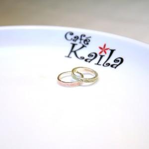 結婚指輪にはハワイアンジュエリーを☆