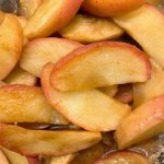 リンゴのカラメリゼについて