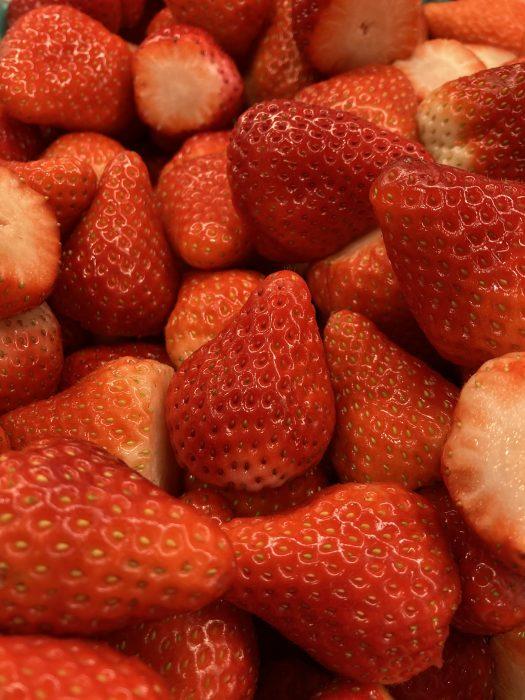 イチゴ大量生産