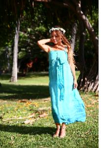 ハワイの風を感じてガーデンウェディング♪