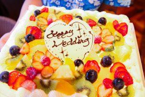 ウエディングパンケーキの他にもこんなケーキもありますよ♪♪