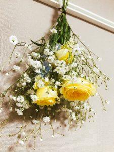 思い出のお花はドライフラワーで♪