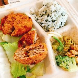 日本食が恋しくなったらここへ!日系の絶品ランチプレートのお店