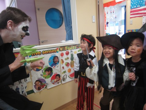 Mr Dark (or Mr Justin as he's more commonly known!) might have met his match in Jack Sparrow!