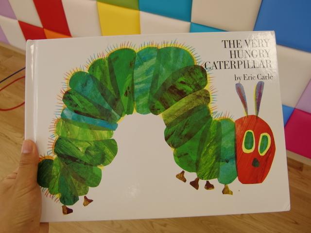 はらぺこあおむし制作☆The very hungry caterpillar craft