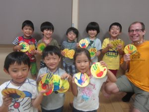 Grand parents day craft(*^^*)