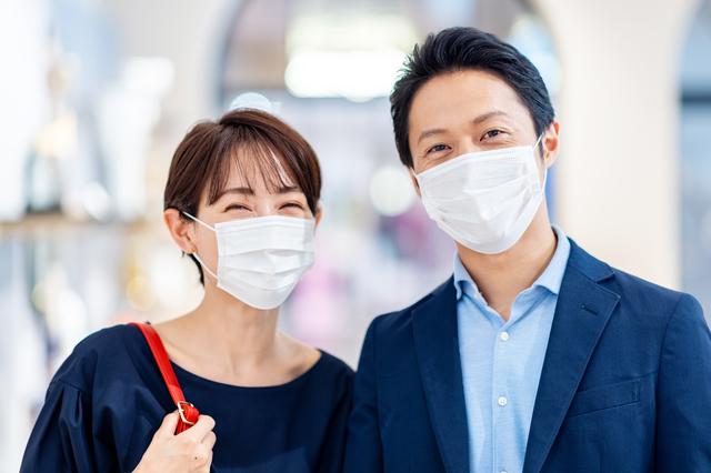 徳島県産マスクをつけてデートに出かけよう