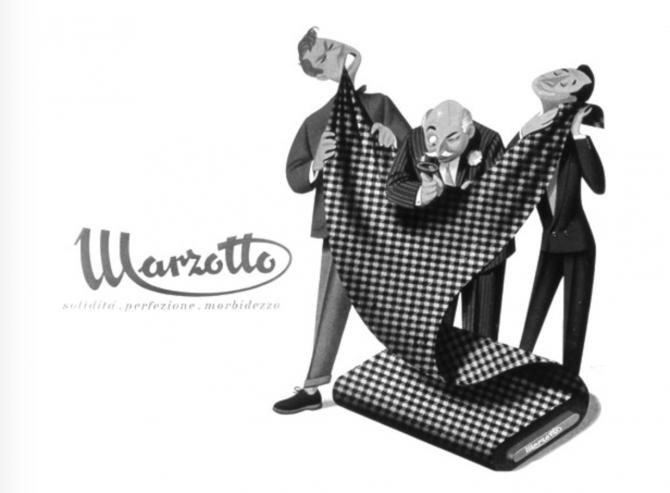 イタリアのお洒落なジャケット素材「MARZOTTO(マルゾット)」の2019年の新作ワッフル素材
