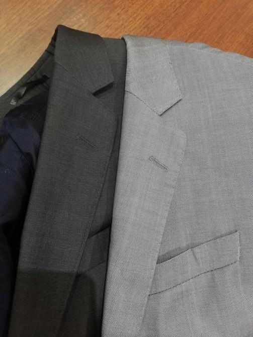 海外で購入した「トミーヒルフィガー」のジャケットの袖丈直し事例