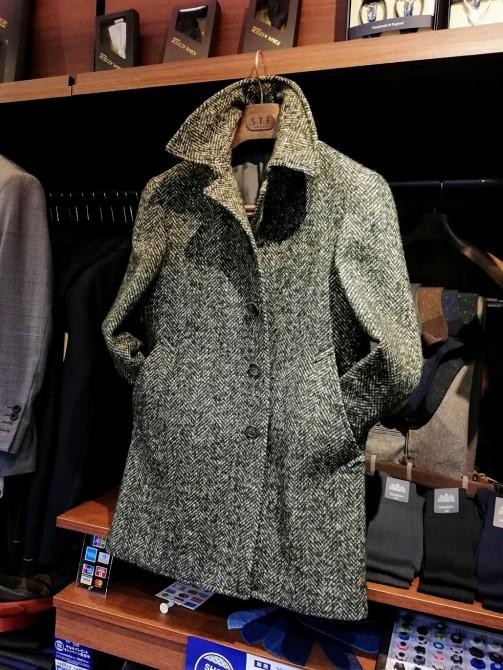 コートの季節!今の時期がオーダーコートのご注文のタイミングです。