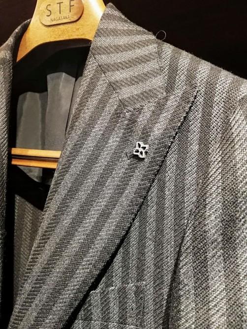 タリアトーレのジャケット「袖丈詰め&本切羽仕様」のリフォーム事例