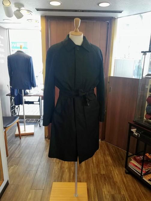 BURBERRY(バーバリー)のコートのサイズ直し事例。