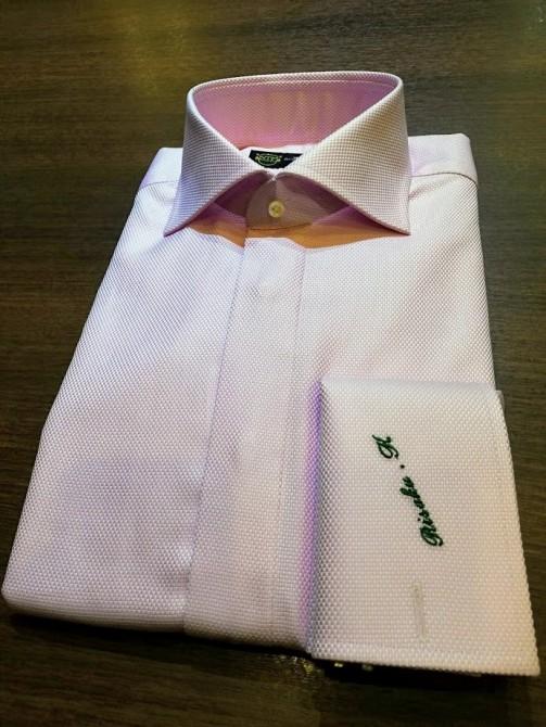 ロイヤルカリビアンコットンで仕立てたオーダーシャツのご紹介