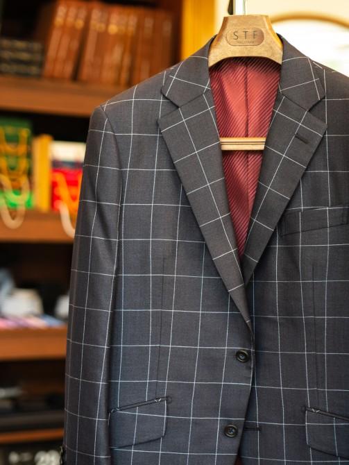 イタリアの生地ブランド「ビエレッシ」のオーダージャケット