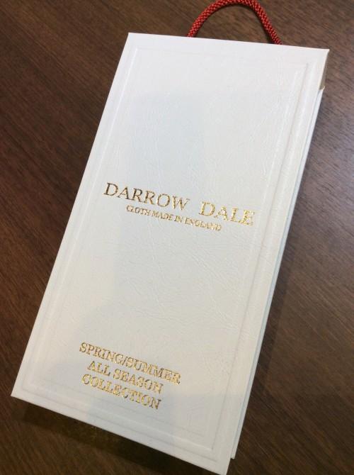 2020年秋冬(オールシーズン)の生地見本帳の入荷情報!! DARROW DALE(ダローデール)