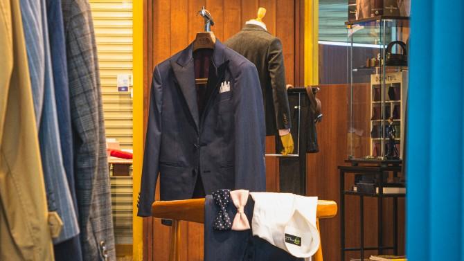 「結婚式で着るタキシード、式が終わったらスーツとして着たい・・・。」横浜オーダースーツのナガサカ
