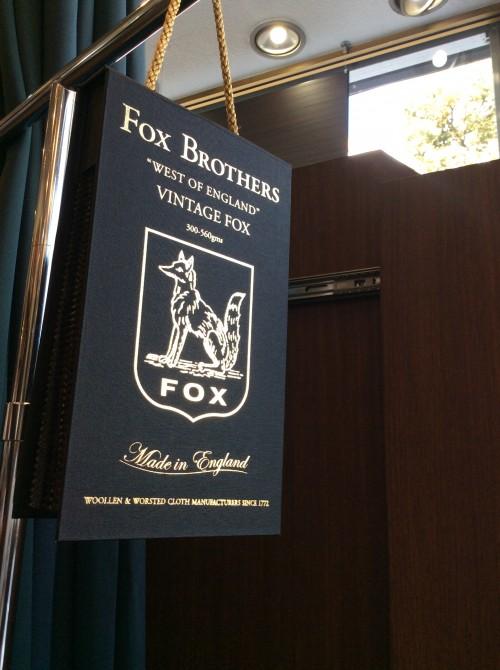 フランネルを楽しむ  〜FOX BROTHERS〜